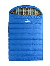 Saco de dormir Retangular Junior -15-5 Plumagem 300g 210X140 Equitação Campismo Viajar Caça ExteriorÁ Prova de Humidade Respirabilidade