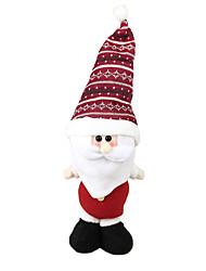 Weihnachtsdeko Weihnachts Party Artikel Spielzeug für Weihnachten Urlaubszubehör Weihnachten Gewebe Rot