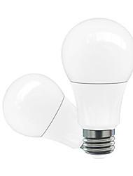 5W E26/E27 Ampoules Globe LED A60(A19) 5 LED Haute Puissance 200-500 lm Blanc Chaud Blanc Froid Blanc Naturel Rouge Bleu Jaune Vert Rose