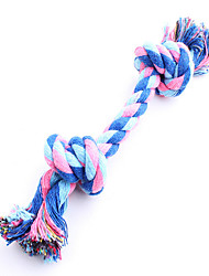 Dog Toy Pet Toys Interactive Rope Durable Blue Cotton