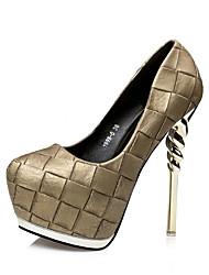 Women's Stiletto Heels/Fashion Style/Hot Sales/Platform/Party & Evening/Dress/ Black/Gold/Brown