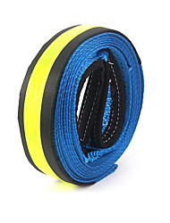Automobile Tow Rope Traction Rope Fluorescent Reflection Length 5 Meters Bearing 8 Tons