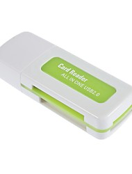 USB 2.0 sdhc sdxc micro sd lecteur de carte multifonction sd / microsd / tf carte trans-flash / m2 / ms memory stick / mmc