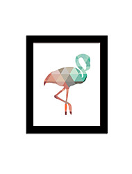 Unframed Canvas Print Abstract Modern / European Style Flamingo Pattern Wall Decor For Home Decoration