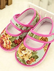 Girl's Baby Flats Comfort Cotton Casual Pink
