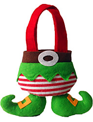 Christmas Decorations / Gift Bags Holiday Supplies Textile Green Above 3