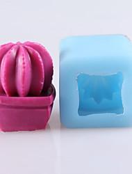 кактус формы мыло формы Mooncake формы помады торт шоколадный силиконовые формы, формы для выпечки украшение инструменты