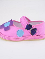 Girl's Flats First Walkers Fabric Casual Pink