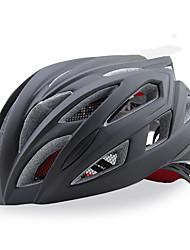 Жен. Муж. Универсальные Велоспорт шлем 21 Вентиляционные клапаны ВелоспортВелосипедный спорт Горные велосипеды Шоссейные велосипеды