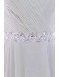 Satin Mariage Fête/Soirée Quotidien Ceinture-Appliques Femme 250cm Appliques