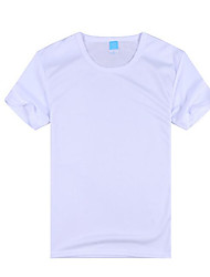 Running Tops Kid's Short Sleeve Breathable / Quick Dry / Wearable / Comfortable PolyesterExercise & Fitness / Racing / Basketball /