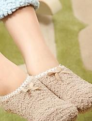 andere für Socken Atmungsaktivität gelb / grün / pink / lila / weiß / Kaffee / orange / Koralle
