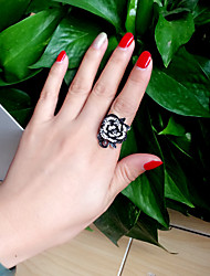 Ring Alloy Punk Statement Jewelry Black Jewelry Wedding Party Halloween Daily 1pc