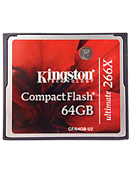 Kingston CF Cards Original Real Capacity 64GB Compact Flash Card 266X High Speed Camera Memory Cards