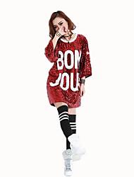 Косплей Фестиваль / праздник Костюмы на Хэллоуин красный Золотой Серебро черный зеленый Чернильный синий Однотонный Платье Рождество