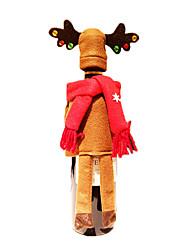 Рождественский декор Товары для Рождественской вечеринки Товары для отпуска 2Pcs Рождество Текстиль