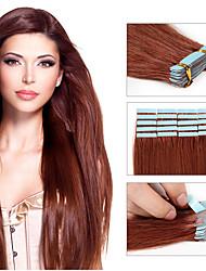 baratos de cabelo fita extensões 20pcs / pack pu fita de trama da pele em extensões de cabelo humano transporte livre