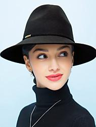 Women Wool Bucket Hat,Vintage / Casual Spring / Fall / Winter