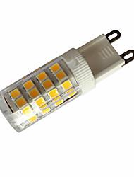 5W E14 / G9 / G4 LED à Double Broches T 51LED SMD 2835 380-450LM lm Blanc Chaud / Blanc Froid Décorative AC110 / AC220 V 1 pièce