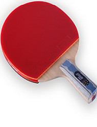 Table Tennis Rackets Wood Pimples Indoor-#