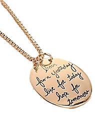 Náhrdelníky Náhrdelníky s přívěšky Šperky Zvláštní příležitosti Narozeniny Denní Ležérní Sport Módní počáteční šperky Slitina Dámské Dárek