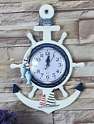 Moderno/Contemporâneo / Casual / Escritório/Negócio Família / Aniversário Relógio de parede,Redonda / Inovador Metal / Plástico Interior