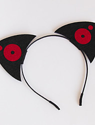 Headpiece Inspired by Cosplay Cosplay Anime Cosplay Accessories Headpiece Black / Red Nonwoven Fabric Male / Female / Kid