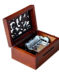 Music Box Music Sweet / Special / Creative Wood Brown For Boys / For Girls