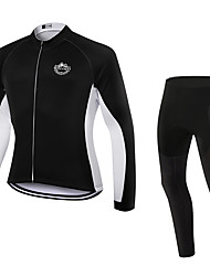 WOLFKEI Spring/Summer/Autumn Long Sleeve Cycling JerseyLong Tights Ropa Ciclismo Cycling Clothing Suits #WK94