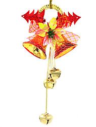 Christmas Decorations / Christmas Party Supplies / Christmas Tree Ornaments Holiday Supplies Clock Plastic /2Pcs