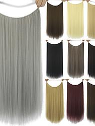 Расширения человеческих волос синтетический 80G 60CM Наращивание волос