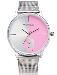 Women's Wrist watch Quartz Alloy Band Silver
