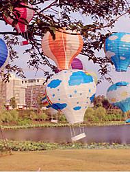 Feier von Weihnachten Shop Papierlaterne Festivaldekoration Ballon 12 Zoll 30 Laternen cm hängenden Korb hängende Verzierungen