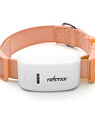 Dog GPS Collar Electronic/Electric / Rechargeable / Wireless / GPS / Batteries Included Solid Brown Plastic