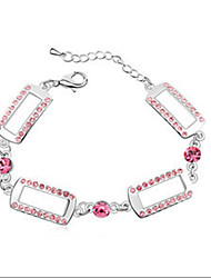 Bracelet Charm Bracelet Alloy Others Fashion / Personalized Birthday / Gift / Wedding / Party / Daily / Casual Jewelry Gift Pink,1pc