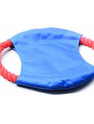 Brinquedo Para Cachorro Brinquedo Para Gato Brinquedos para Animais Interativo Discos Voadores Corda Vermelho Algodão