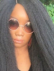 Kinky Straight Weave 18inch Italian Yaki Straight Hair Weave kanekalon Straight Extensions for Black Women Toyokalon 26 Strand 100g gram Hair 1pc