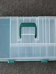 Caixas de Pesca Caixa de Derrube Impermeável 1 Bandeja 51*14*8 PE Couro Ecológico