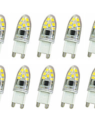 3W G9 LED à Double Broches T 14LED SMD 2835 180-240LM lm Blanc Chaud / Blanc Froid Décorative AC220 V 10 pièces