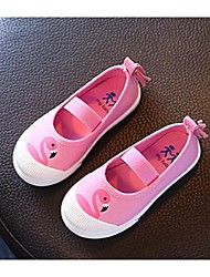 Girl's Loafers & Slip-Ons Comfort Canvas Casual Yellow Pink Beige