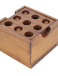 Kong Ming Lock Toys Wood Coffee For Boys For Girls 5 to 7 Years 8 to 13 Years 14 Years & Up
