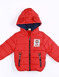 Boy Casual/Daily Solid Down & Cotton Padded,Cotton Winter