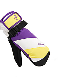 Ski Gloves Full-finger Gloves Unisex Activity/ Sports Gloves Keep Warm / Snowproof Ski & Snowboard / Leisure Sports Cotton / PU Ski Gloves
