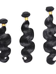 3 Bundles TRES JOLIE Body Wave 100% Human Hair 10-20Inch Natural Black Human Hair Weaves