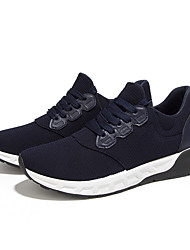 Men's Athletic Shoes Spring / Summer / Fall / Winter Platform / Comfort Canvas Outdoor / Athletic / Casual Low Heel Lace-upBlack / Blue /