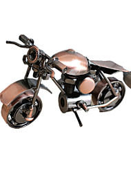 Display Model Model & Building Toy Toys Novelty Motorcycle Metal Coffee / Bronze For Boys