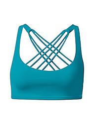 Йога Спортивные бюстгальтеры Компрессионная одежда Безрукавка Верхняя часть Высокая воздухопроницаемость (> 15 001 г) Сжатие