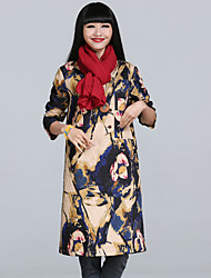 invierno barato aclaramiento traje nuevo estilo chino de algodón acolchado falda de mono