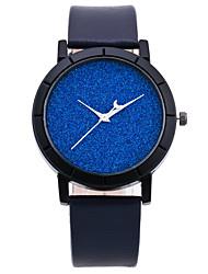 Men's Women's Fashion Watch Wrist watch Quartz PU Band Black Blue Green Navy Brand