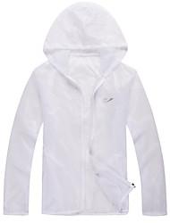 Women's Men's Long Sleeve Running Sweatshirt Windbreakers Sun Protection ClothingWaterproof Breathable Quick Dry Windproof Ultraviolet